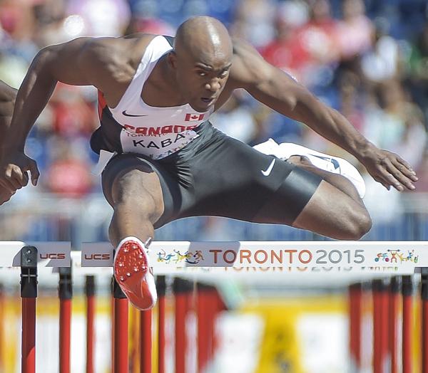 Toronto 2015 Pan Am Games:  Day 14 - 110m Hurdles
