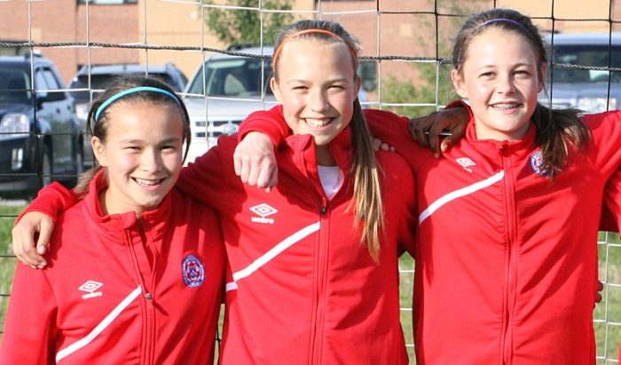 Past Girls Soccer Provincial Team Club Mates Reunite For