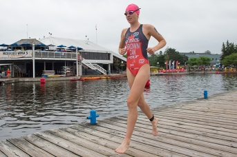 June 17th, 2017. Team Canada athletes competed in the CAMTRI Sprint Triathlon using the elimination format for a CAMTRI Premium America's Cup at Dow's Lake in Ottawa, Ontario, Canada. Mandatory credit: Marc DesRosiers/ Front Page News