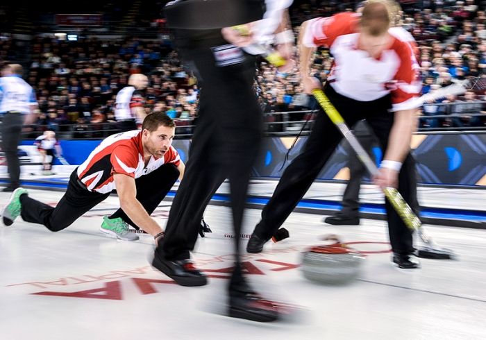 CURLING MAR 05: Tim Hortons Brier 2016 - Day 1