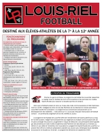 Football page couverture