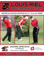 Golf page couverture