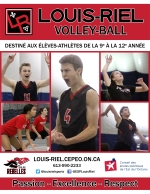 Volley-ball page couverture