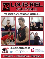 Volleyball cover page